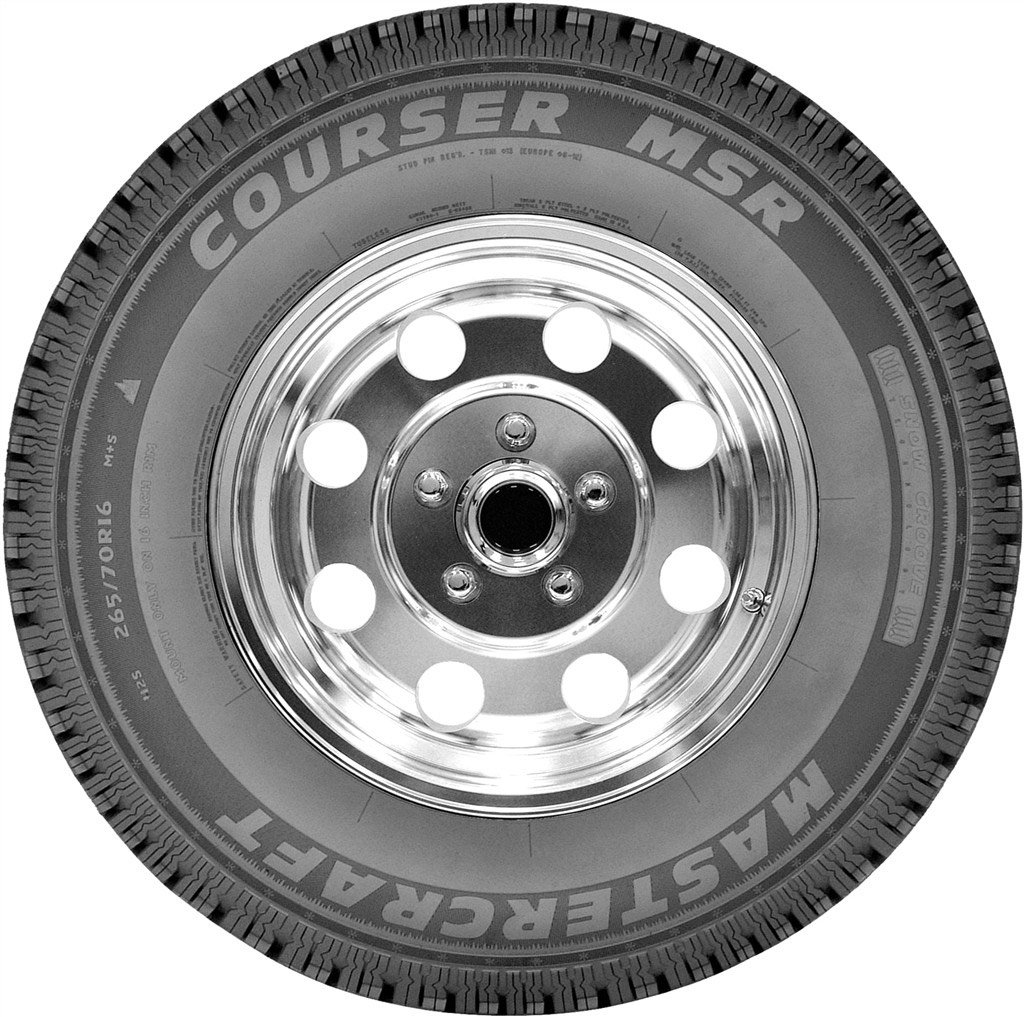 Mastercraft Courser MSR Winter Radial Tire-235//70R16//SL 106S