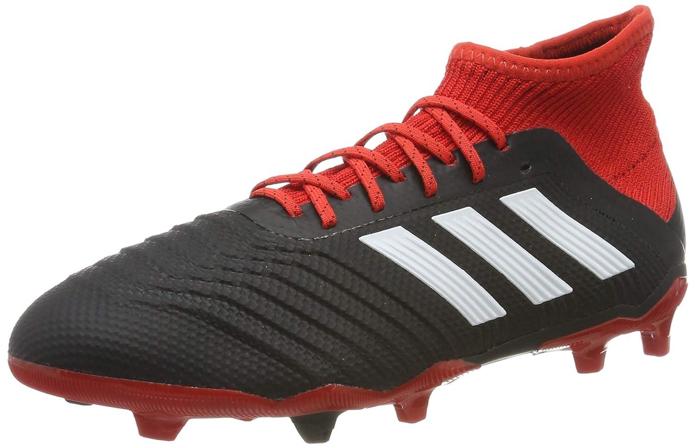 Noir (Negbás Ftwbla rouge 001) adidas Prougeator 18.1 FG, Chaussures de Football Mixte Enfant 35.5 EU