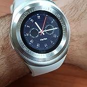 Bluetooth Smartwatch con Whatsapp Blanco: Amazon.es: Electrónica