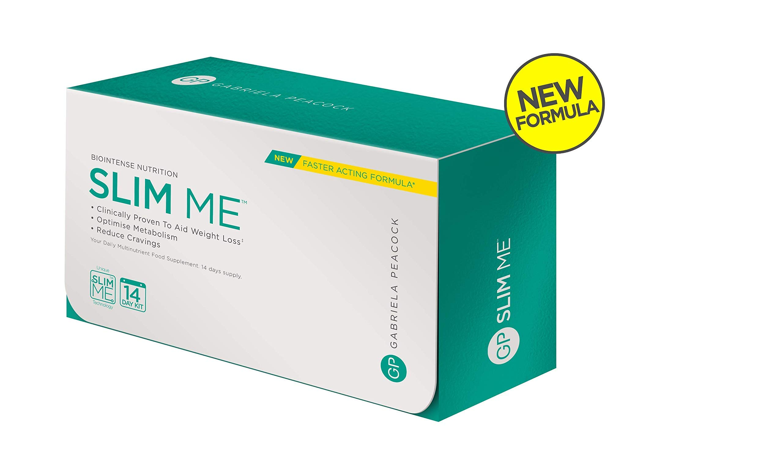 New & Improved Slim Me 14 Days Slimming Supplements Kit - Powerful Slimming Supplement - with Glucomannan to Suppress Appetite & Regulate Blood Sugar - 14 Days Supply