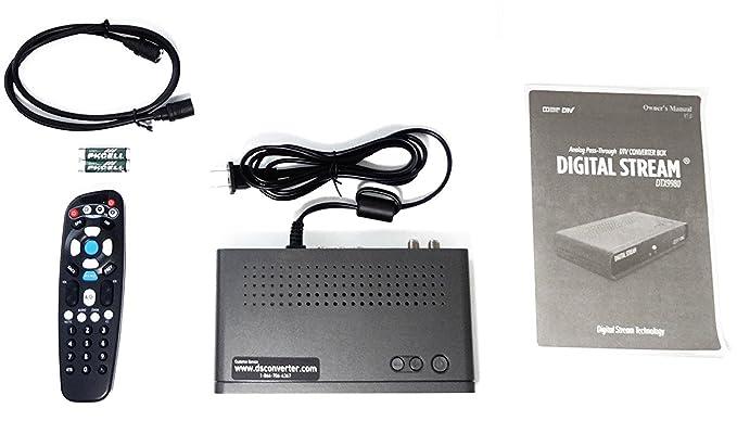 amazon com digital stream digital to analog converter box electronics rh amazon com Digital Stream Codes Digital Stream TV