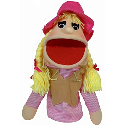 "Puppet Partners 17.5"" Cowgirl Puppet: Toys & Games"