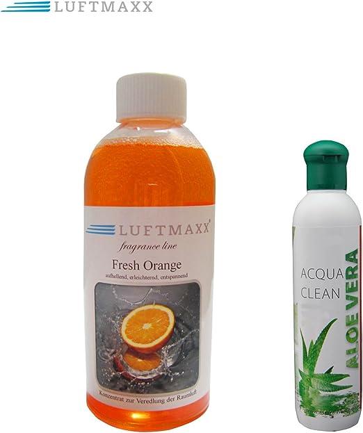 Aroma plástico Aloe Vera + Aire Maxx Fresh naranja para aire ...
