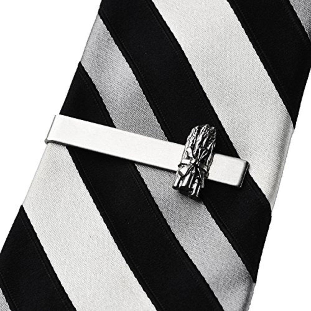 Quality Handcrafts Guaranteed Asparagus Tie Clip