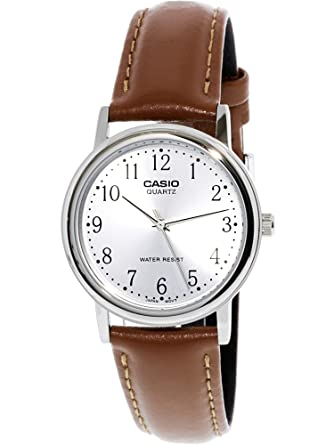 Casio Mens Leather watch #MTP1095E7B