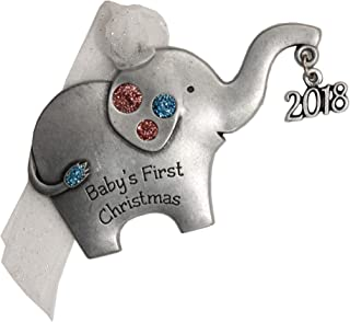 product image for Gloria Duchin Elephant Baby's First Christmas Ornament, Multicolor