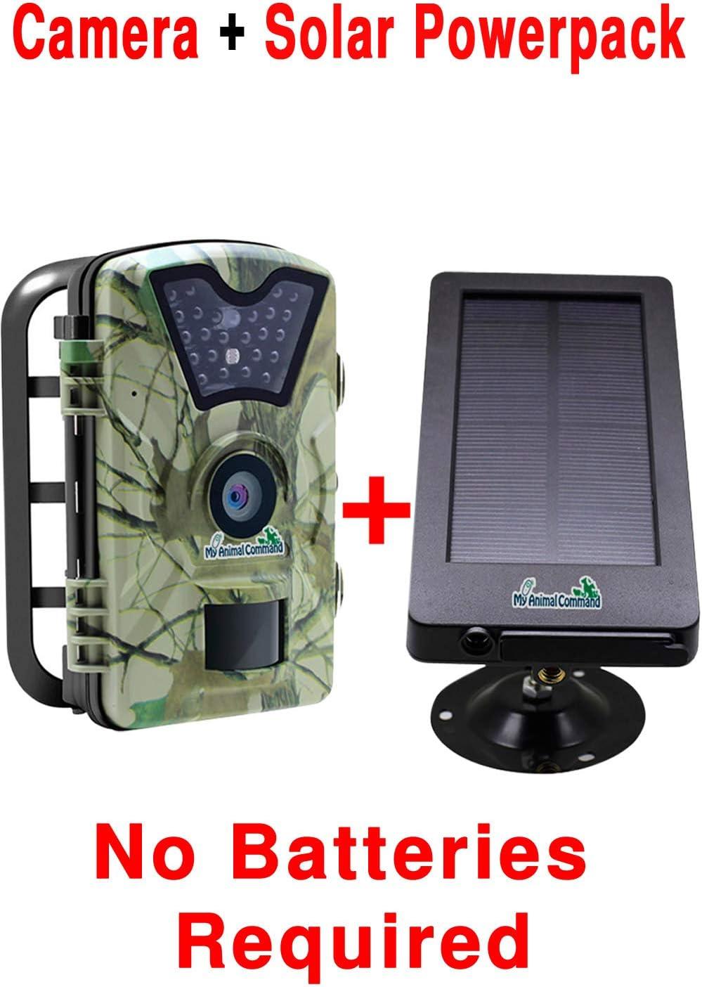 MyCommand Solar Trail Camera