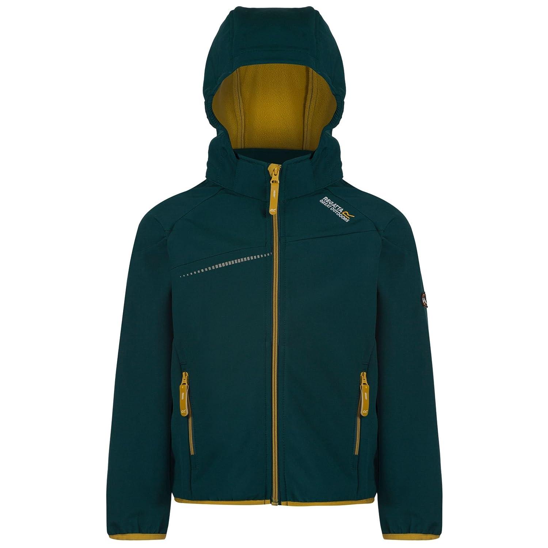 Regatta Boys & Girls Hydronic Warm Lightweight Softshell Jacket RKL065