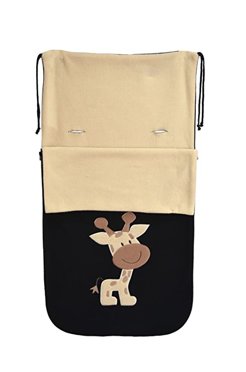 Snuggle Buggy - Saco para carro carrito bebé jirafa: Amazon.es: Bebé