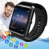 Pradory Smart Watch,Android Smartwatch Touch Screen Bluetooth Smart Watch for Android Phones Wrist Phone Watch with SIM…