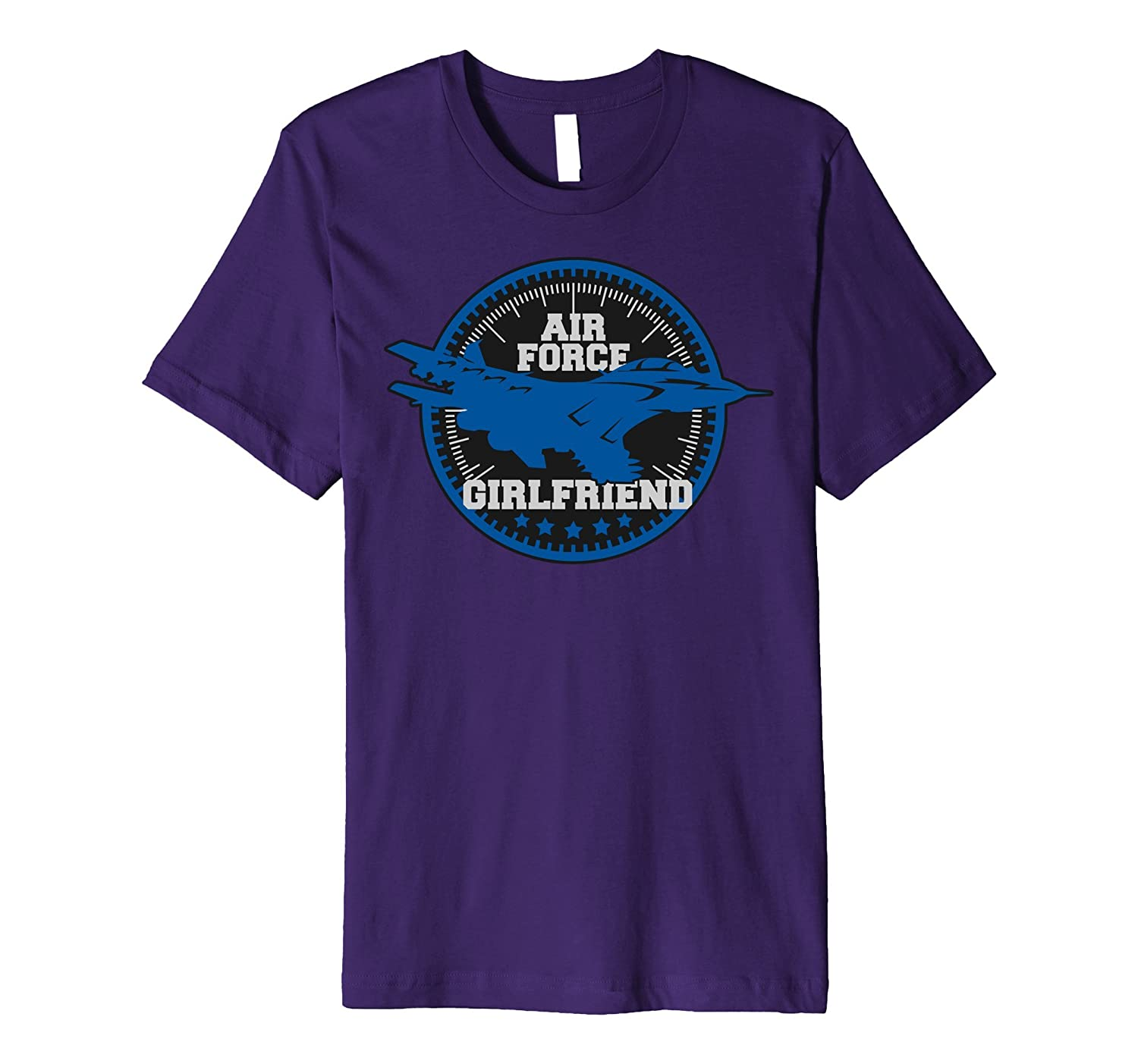 Air Force Girlfriend Jet Plane Altimeter T-shirt