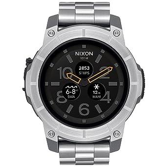 Nixon misión Smartwatch - Acero Inoxidable, a1216130: Amazon.es ...
