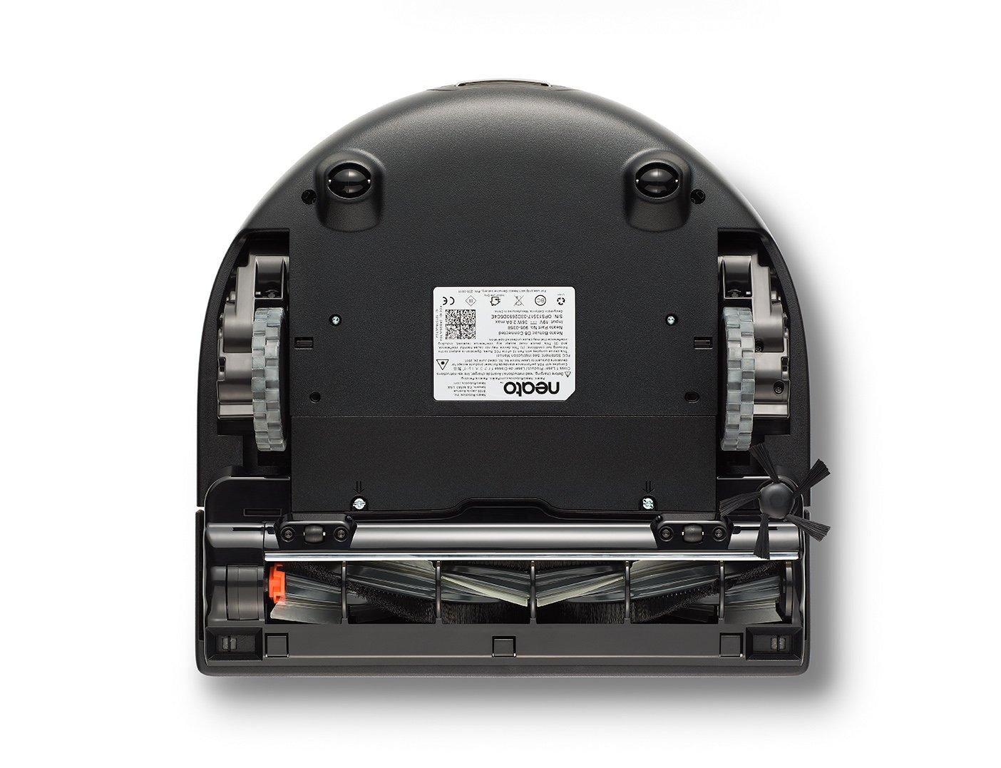 Le Neato Botvac D7 Connecté, vue de dessous