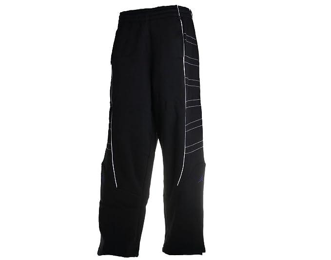 7209a9e3949 Amazon.com: Air Jordan Nike AJ 11 Mens Fleece Pants X-Large Black ...