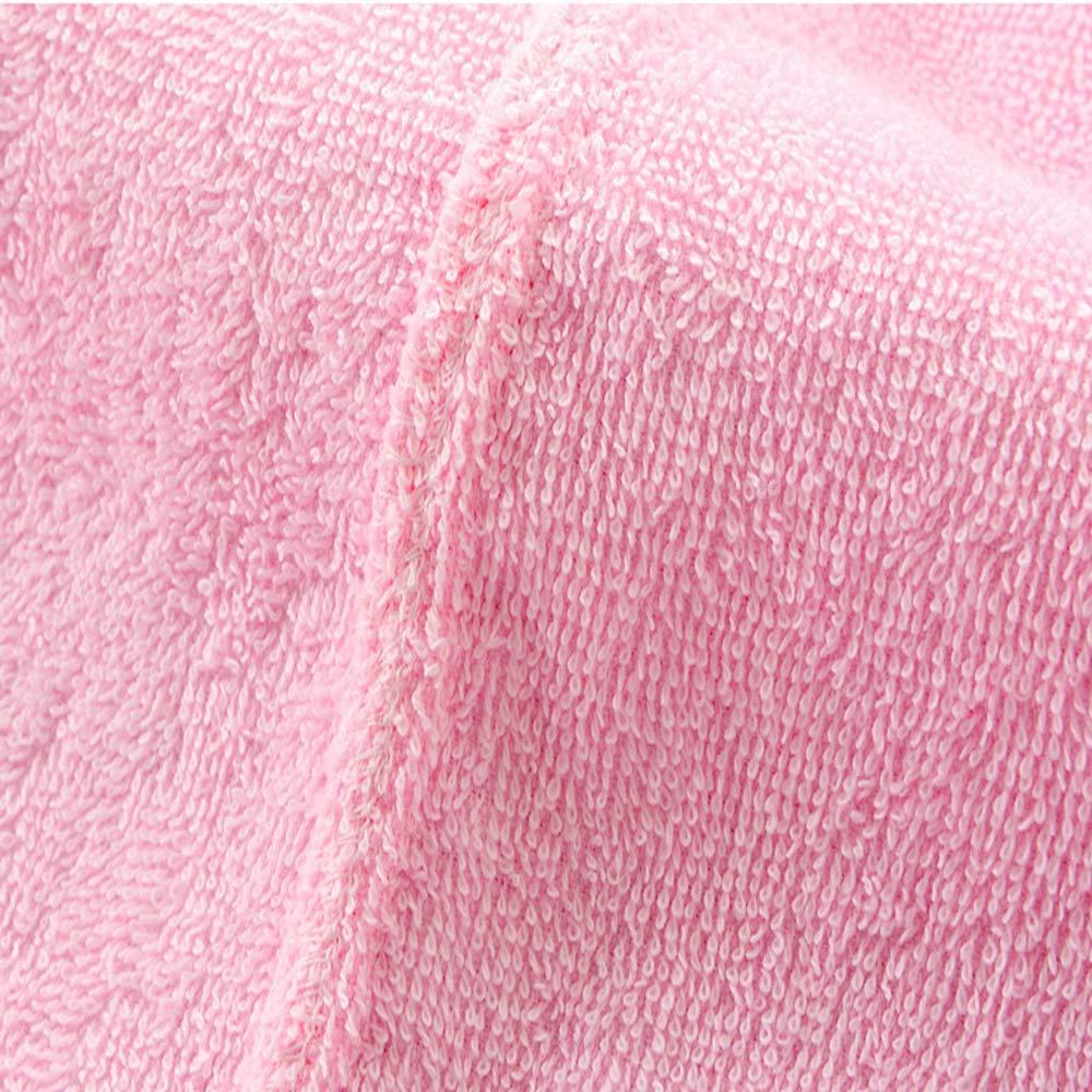 HONGNA Albornoz De Hotel para Hombres Material Y Mujeres Material Hombres De Algodón De Otoño E Invierno con Capucha Bata Absorbente Gruesa Albornoz De Cinco Estrellas (Color : Light rosado L) 0eb710