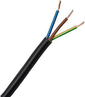 Kopp 152325008 - Cable eléctrico (H03 VV-F, 3 x 0,75