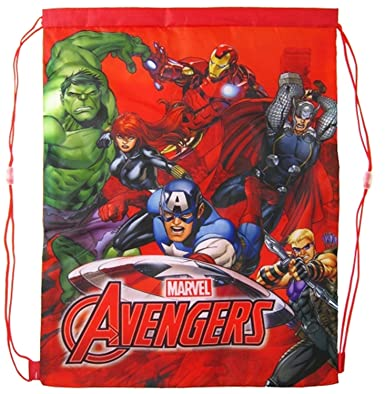 aa97d7a38534 Image Unavailable. Image not available for. Colour  MARVEL Captain America  Drawstring School Sports Gym   Swimming Bag