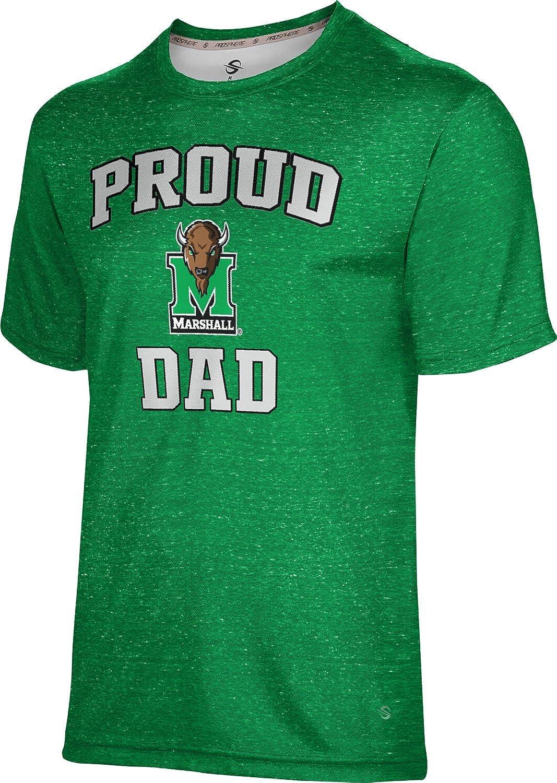 Heather ProSphere Marshall University Mens Performance T-Shirt