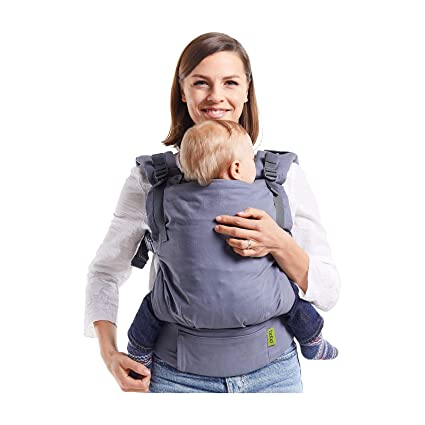c1f740a794a Boba X Adjustable Baby and Toddler Carrier - Front and Back Carrier - Grey   Amazon.co.uk  Baby