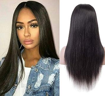 Perruque Cheveux Humain Naturel Perruque