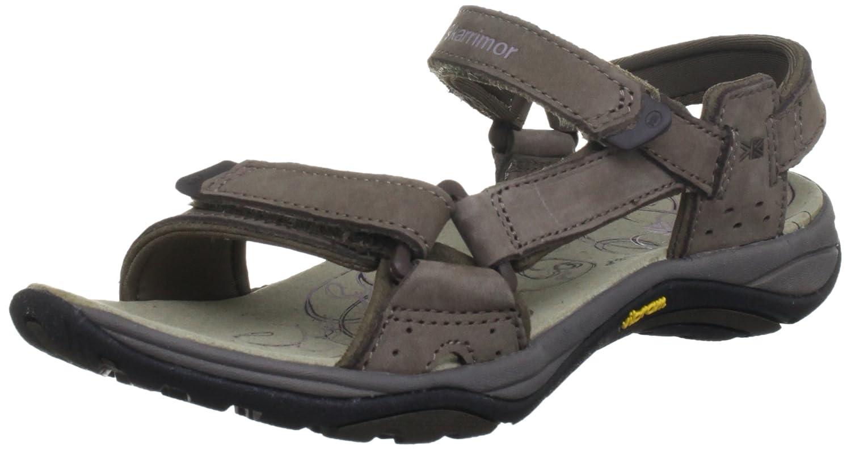 Karrimor Leather Travel Sandal F - Sandalias deportivas Mujer Marrón (Seal) 36 EU K267-SEL-143