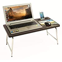 Parasnath Prime Stainless Steel Mobile Holder Bed Laptop Table with inbuilt Mobile Stand and Mousepad (Made in India)(Launched Offers for Limited Period)