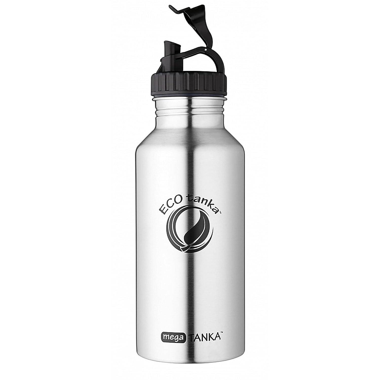 ECOtanka megaTANKA, 2000ml, Botella/Frasco de Acero ecológico, Inoxidable, Libre de BPA, ecológico, Acero Duradero, Robusto, Muy Ligero 94a310