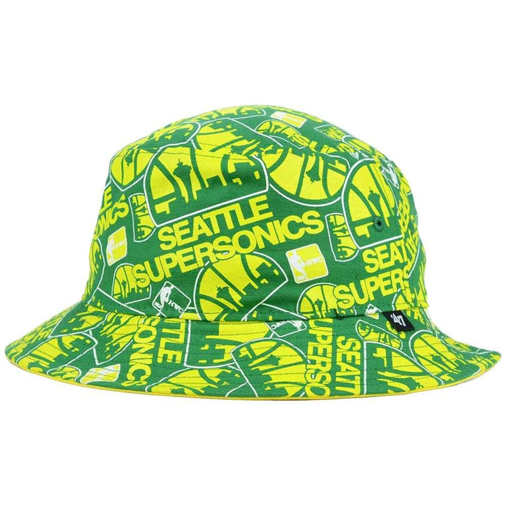 Seattle Supersonics '47 Brand Bravado Bucket Hat by '47