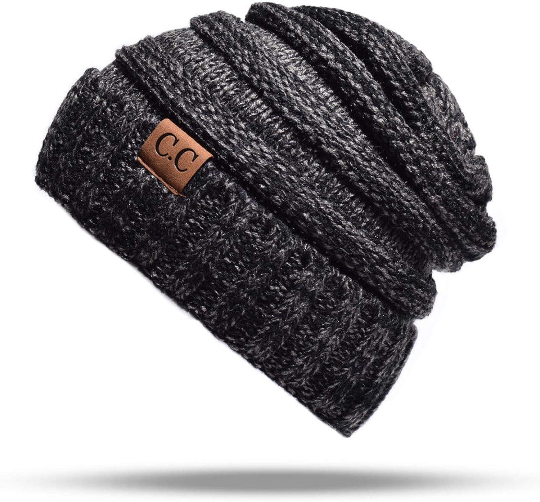 Female Winter Ball Cap Pom Poms Hat for Women Girls Hat Knitted Beanies Hat Thick Womens Skullies Beanies