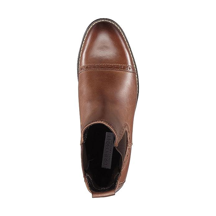 2a18eff1867aee DRIEVHOLT Damen Damen Chelsea-Boots aus Leder