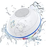 Portable Bluetooth Speakers with LED Lights, IPX7 Waterproof Floating Speaker, Stereo