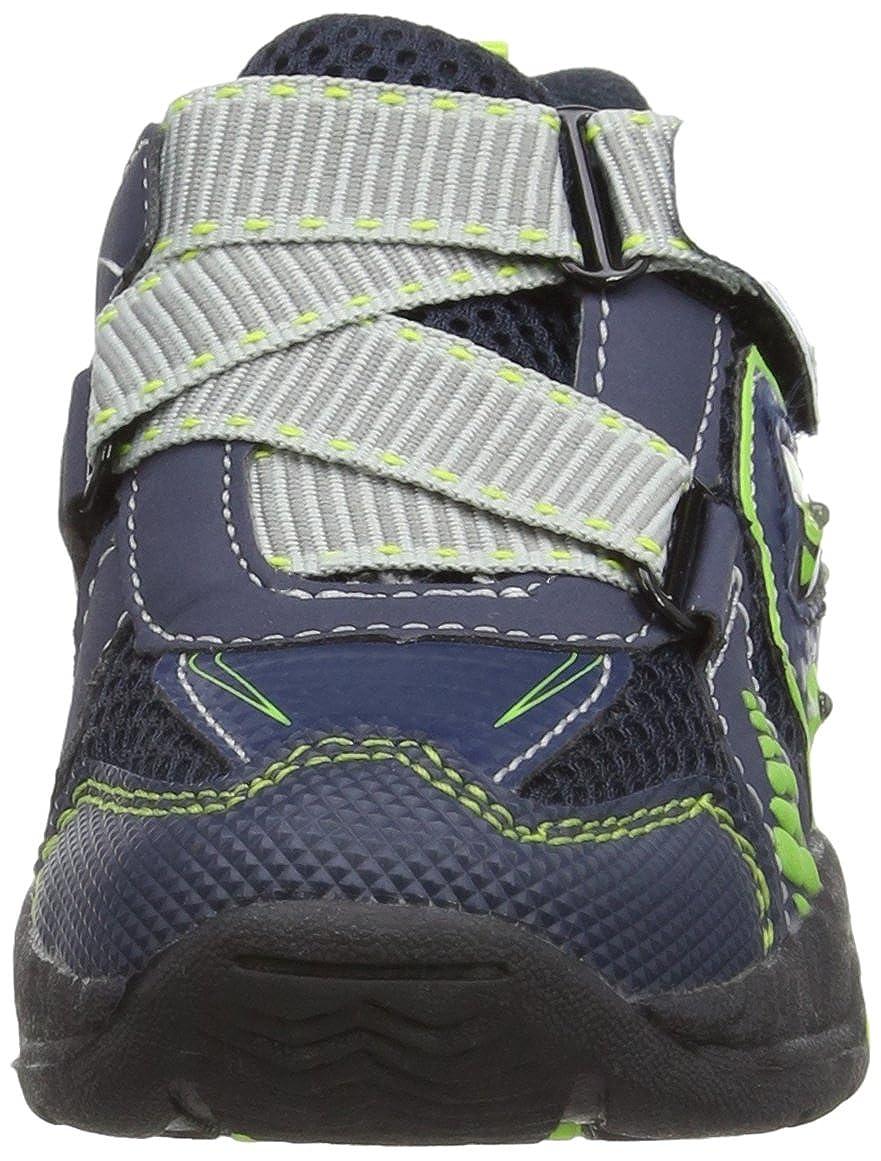 diMio Dino - Zapatos para bebés, color blau/grün, talla 25