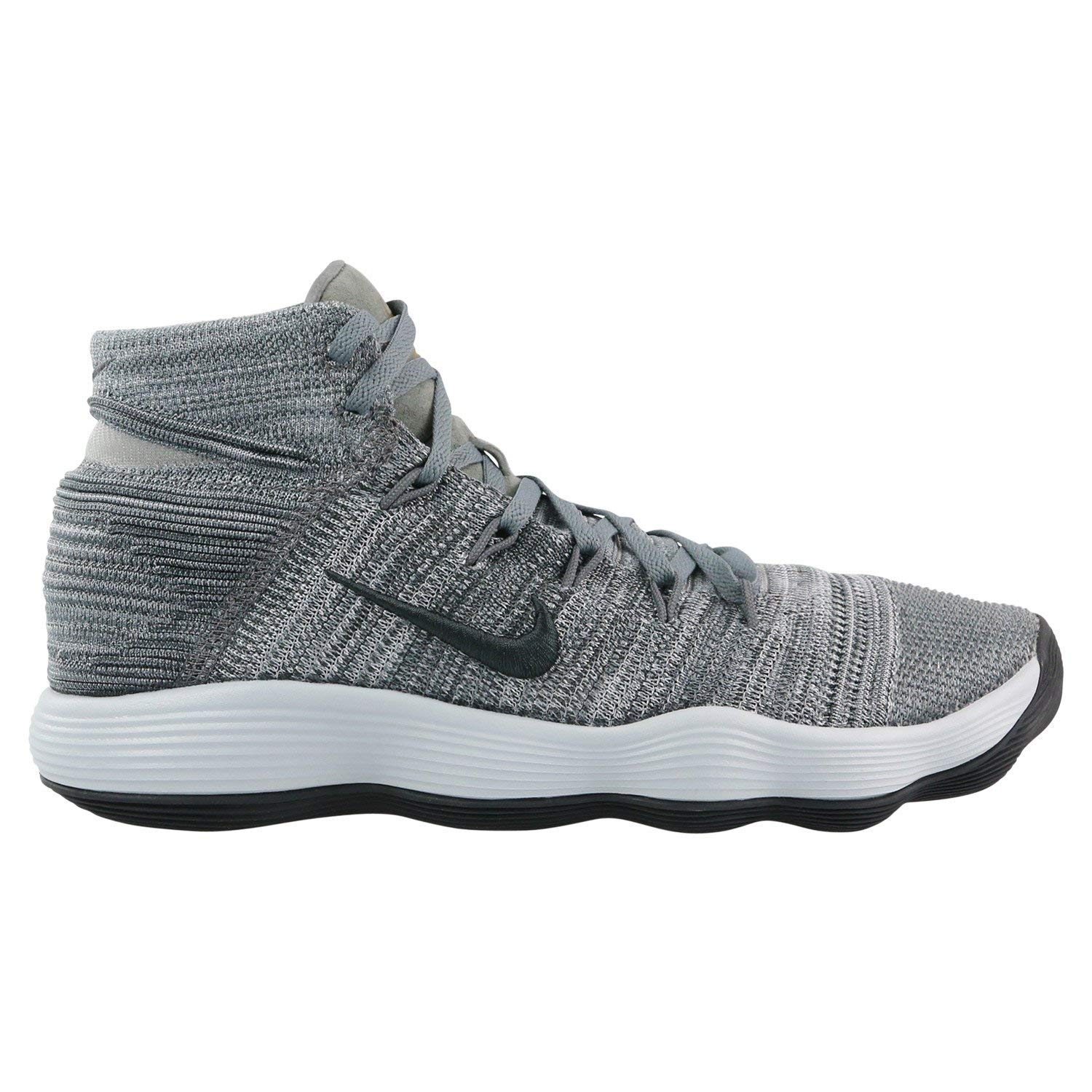 fd3a3c98f7d Amazon.com  Nike Hyperdunk 2017 Flyknit basketball shoes mens cool grey  anthracite NEW 917726-007 - 11  Clothing