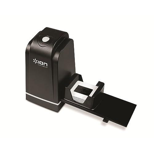 ION Audio Slides Forever USB 35 mm Slide and Negative 5 Mega Pixel Scanner with Rapid Slide Feeder for Mac and PC