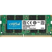 Crucial CT8G4SFS824A 8Go (DDR4, 2400 MT/s, PC4-19200, SR x8, SODIMM, 260-Pin) Mémoire