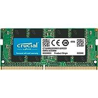 Crucial 8GB Single DDR4 3200 MT/S (PC4-25600) CL22 SR X8 Unbuffered SODIMM 260-Pin Memory - CT8G4SFS832A