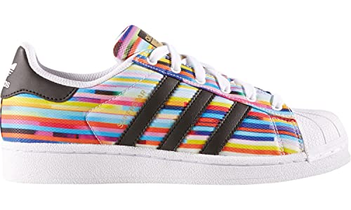 ZAPATILLAS ADIDAS SUPERSTAR J RAYAS MULTICOLOR (3,5)