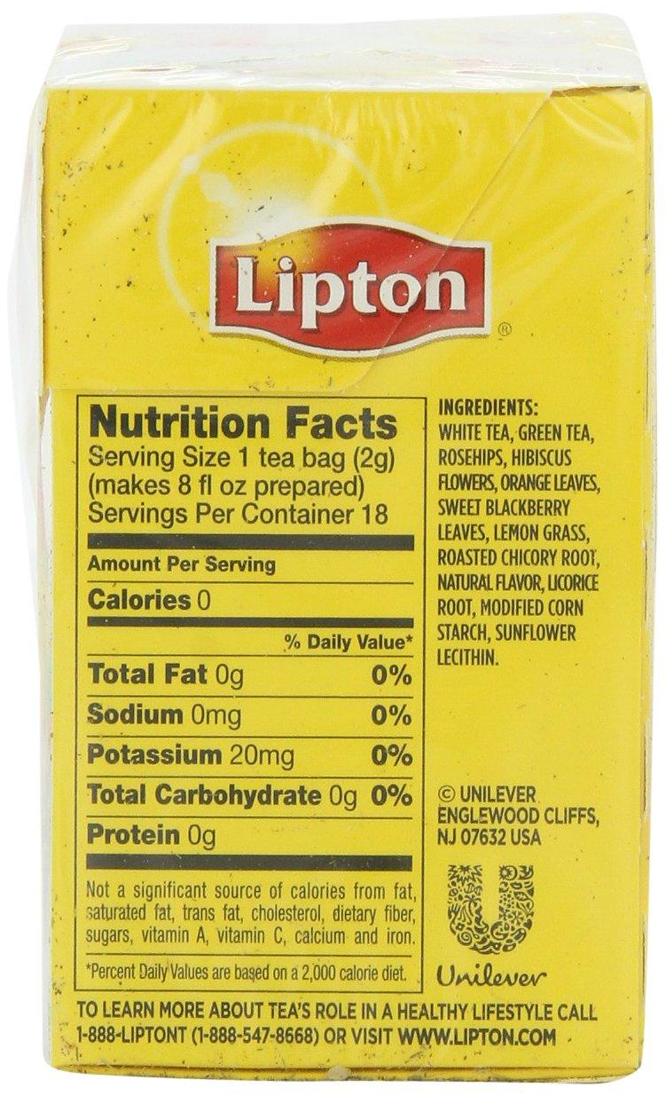 Lipton Peach Iced Tea Nutrition Facts Besto Blog