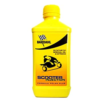 Aceite Motor Bardahl Scooter Injection 2T - 1 Litro: Amazon ...