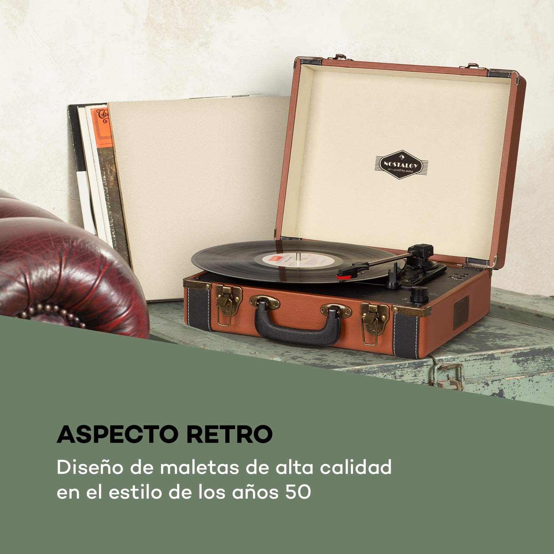auna Jerry Lee BT Tocadiscos - Discos de Vinilo , Tracción por ...