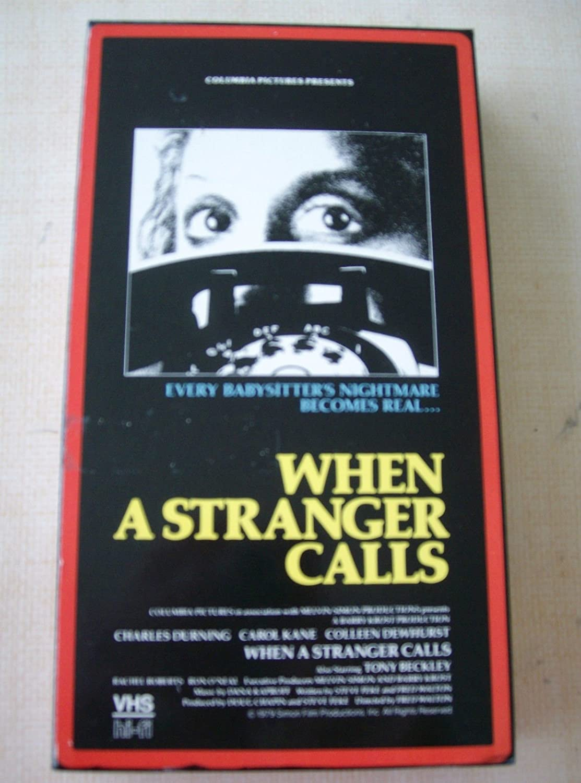 When a Stranger Calls [Reino Unido] [VHS]: Amazon.es: Charles ...