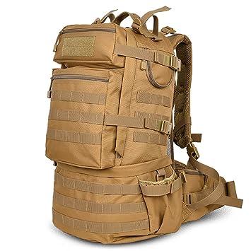 mochilas montaña 40L bolso de viaje de gran capacidad de hombro al aire libre a pie