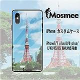 Mosmee iPhoneケース カスタムスマホケース スマホケース 強化ガラス TPU素材 写真ケース 専属スマホケース iPhone7/7 plus/8/8 plus/X/XR/XS/XS MAX対応可能