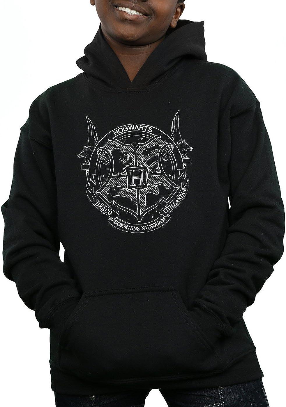 Harry Potter Boys Hogwarts Seal Hoodie