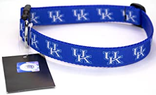 product image for All Star Dogs Blue Kentucky Wildcats Ribbon Dog Collar