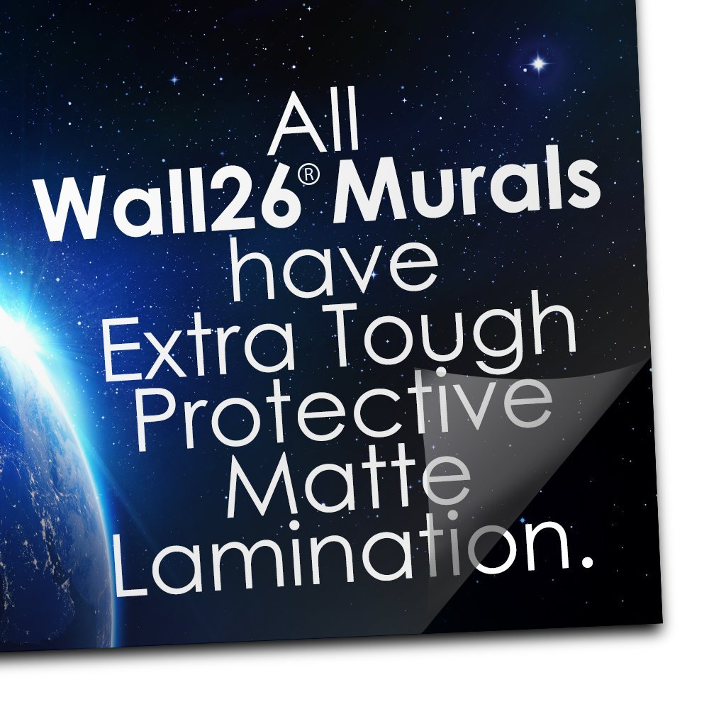 wall26 Fragment of an Old Brick Wall Background - Removable Wall Mural | Self-Adhesive Large Wallpaper - 100x144 inches by wall26 (Image #4)