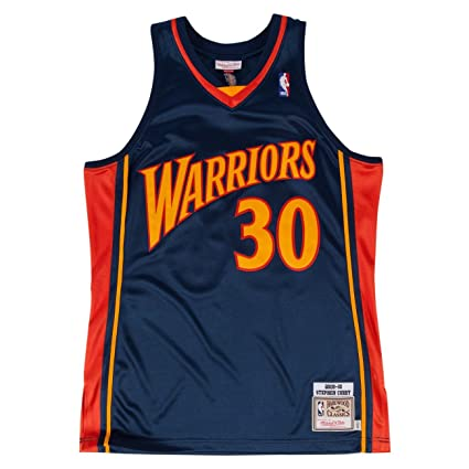 5a9083b2c608 Mitchell   Ness Stephen Curry 2009-10 Authentic Jersey Golden State Warriors  (36 (