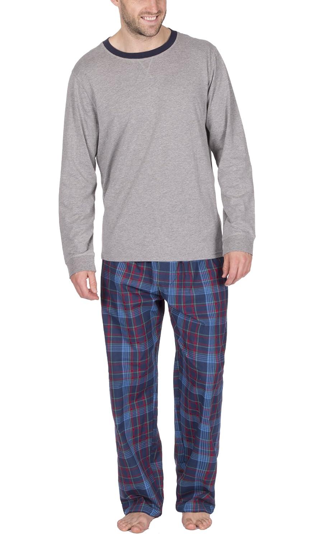 Gensen Mens Warm Fleece Jersey Winter PJ Pyjama Set Night Wear PJ s Pyjamas  Sets Gents  Amazon.co.uk  Clothing 1c5b6decc