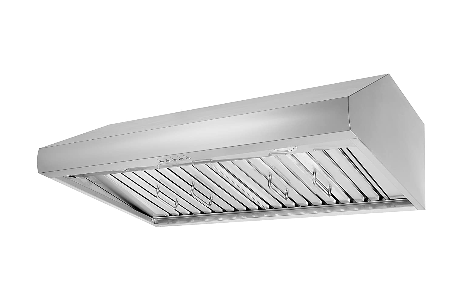 "Thorkitchen HRH3606U HRH3606 36"" Under Cabinet Range Hood with 900 CFM Push Control, Stainless Steel"