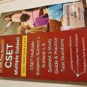 CSET Multiple Subject Test Prep 2018 & 2019: CSET Multiple